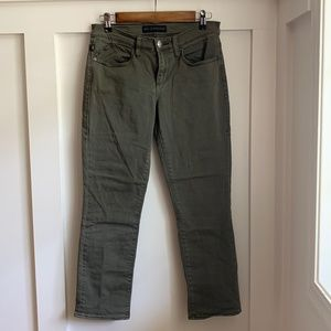 Rock & Republic Kendall Green Denim Jeans, Size 8